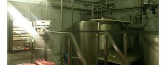 Линия ввода растительных жиров в молоко